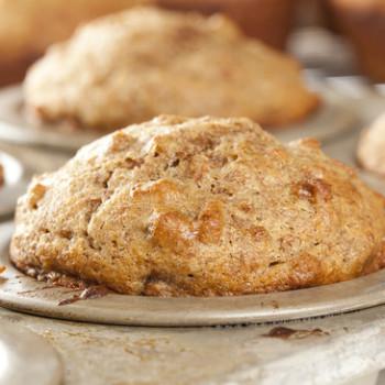 Fresh Homemade Bran Muffins